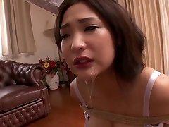 Hottest Japanese whore in Horny MILF, HD JAV scene