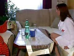 BBW chubby Nurse masturbate with phil viva hot babes Granny