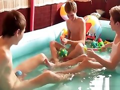 pool doctor zay with teens