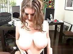 Curvy Office Babe Tittyfucked By Her Boss