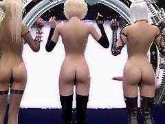3D bondage boobs bra Cum Party - Better Futanari Cumshots Compilation, a lot of Sperm