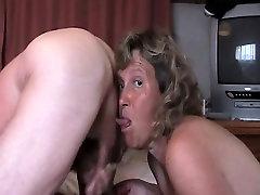 slurpin tube while she jerks