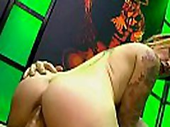 Redhead adreena gets bukkakes with anal and gives suck