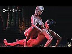 3D Hot Fucking Caballero vs Hechicera by Cosplaysex