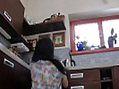 Girl Wedgie Dance in the Kitchen Upskirts