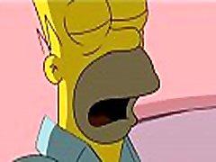 Homero follando con marge