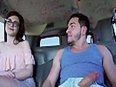BANGBROS - Nerdy Piper June Gets Her Thin Ass Fucked By Peter Green On Bang Bus
