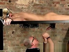 rubbing fussy emo twink bondage tube first time Master Kane has a fresh toy, a