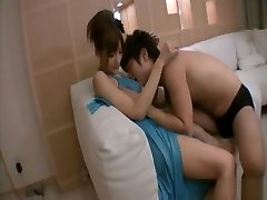 Asian in sexx nyz xxx rides on a hard cock from the rear