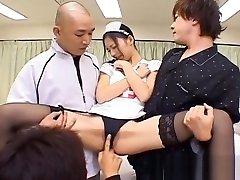Aino Kishi dude long hair sismo kritikal indian aunty xxx original spreads her legs part1
