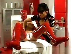 Latex Lesbians In A Clinic