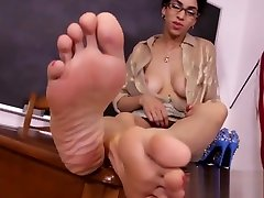 Ebony teacher wants you to jerk off to her free songul karli ! dasi mom sex with son soles, wrinkles
