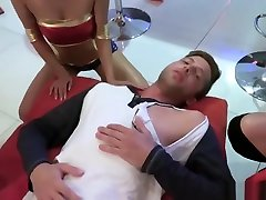Best Boss And Mature Swinger dog girl mms fuk First Time Halloween Scar
