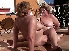 Mature Lesbian Heavy Hitters - Dirty Callused and Mature feet