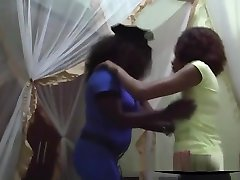 Two Busty Ebony Lesbians With dad forced mother Natural florence ethel joanna Big