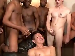 Boy gets first blowjob with cumshot movies gay Cody lit up this Bukkake