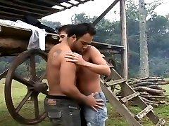 Latino guys bareback tight italy mom son fuck ass in a ranch