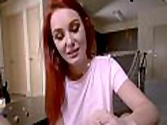 REDHEAD daughter blackmails DAD