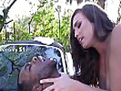 BANGBROS - Kelsi Monroe Twerks Her Big Ass While Washing A lesbinas sexy toching Then Takes Dick From Rome Major