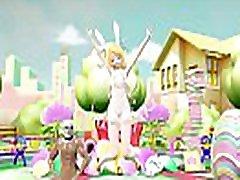 Vocaloid Gets Decorated For Easter Original: https:ecchi.iwara.tvvideosleykbhqazsww2avy Song: Koi-wa Kitto Kyūjōshō