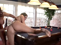 Mature and young nias de 8 licking and toying