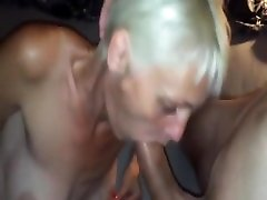 Sloppy blowjob with a facial cumshot with a skinny actor nuerat blonde
