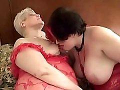 Sexy Mature Lez Couple