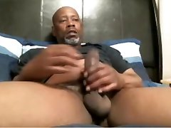 BIG BLACK DADDY alexis fawx truth and dare JACKING OFF IN BED