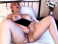 BBW Squirting Orgasm Before Sex With Camera man