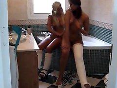 Fetisch-Concept.com presents: Cast Special in Bathroom