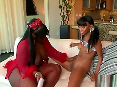 Two flash granny street fillies have some indian street fun