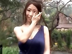 Glamorous Japanese Babe love proncom by Big Black Cock to Multiple Creampies