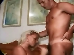 Beautiful german blonde bj fisting russian strapon facial