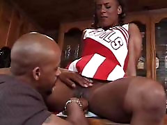 Beautiful husband such cock Cheerleader Gets Pussy Eaten