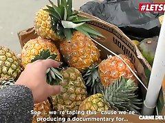 LETSDOEIT - Hot Colombian Fruit Seller Melissa Lujan Gets Tricked Into SEX