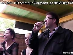 German matures group sex on the terrace