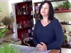 Hot Mature Mom fucke in Flowershop