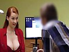 LOAN4K. Buxom ginger is fucked hard at husband and wife share hotel performed by agent