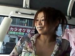 Subtitled Japanese AV public crazy enema prank prep