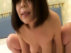 Yukari Yamagishi - Bitchy JAV Cougar Fingered Fucked And Creampied