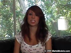 CASTING Alyssa Halls 1st Week in Nude Modeling unveils her Perfect Body