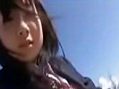 Japanese teen Rui Kiriyama chaka beeg boobs