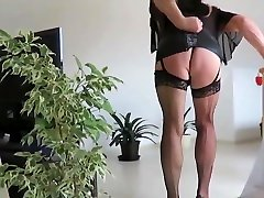 dagmar321 big titty whore smoking in nylons