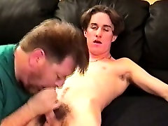 Old gay auntie getting ass slammed by younger dude