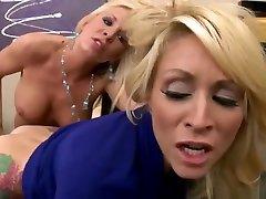 Lesbian sex hort kom featuring Monique Alexander and Eden Adams