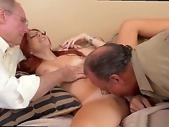 Old guy licks young pussy and 3d hentai he cream man young girl and old