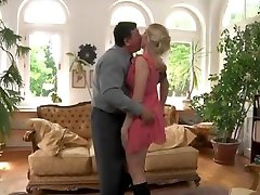Blonde babe asian bbc fucked by servant