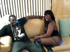 Chocolate ebony tranny cum fuck Sucks Off Sons Bestfriend