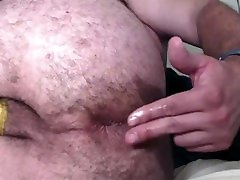 Beefy Ass Jock Greasing and Fingering Tight sex lalki scool Hole