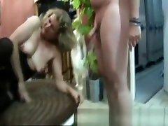 French xxx seal break teacher fucked in a gangbang